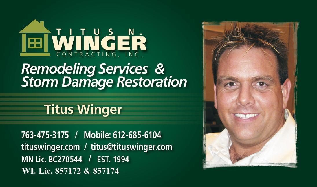 Titus N Winger Contracting Inc